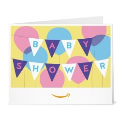 Amazon Gift Card – Print – Baby Shower Banner