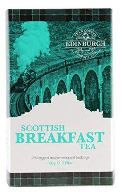 Edinburgh Tea & Coffee Company Scottish Breakfast Tea – 25 Count (Envelope/Tagged), 1. ...