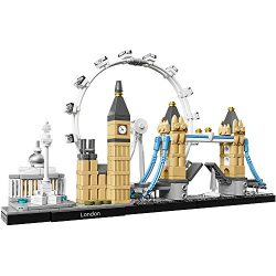 LEGO Architecture London Skyline Collection 21034 Building Set Model Kit and Gift for Kids and A ...