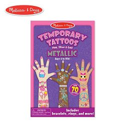 Melissa & Doug Temporary Tattoos – Metallic Temporary Tattoos
