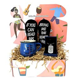 Fathers Day Gifts Box by Silly Obsessions. Father's Day Gift set from Daughter, Son, or Wi ...