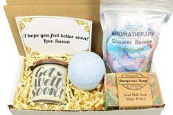 Custom Get Well Soon Gift Box, Gift Ideas, Get Well Soon Care Package, Get Well Gift Ideas, Get  ...