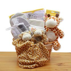 Jungle Safari New Baby Gift Basket – Yellow