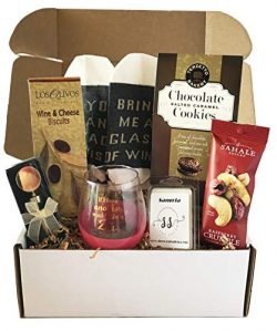 Womans Basket – Mothers Day Gifts Basket With Snack Foods – Gift Basket For Mothers  ...