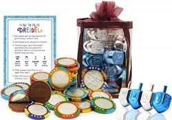 Hanukkah Chocolate Gelt – Chanuka Chocolate Coins – Hanukkah Gift-Set – Chocol ...