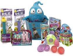 MitranDe Easter Gift Baskets for Girls- Princess, Vampirina Plush & Games Accessory Toys &am ...