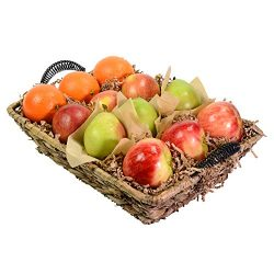 Capital City Fruit 12 piece Signature Basket – Orchard Fresh Fruit Includes Apples, Orange ...