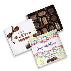 Russell Stover Congratulations Assorted Choc Square Box, 5.5 Ounce