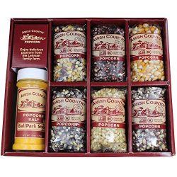 Amish Country Popcorn – 6 (4 Ounce) Variety Gift Sets – Old Fashioned, Non GMO, Glut ...
