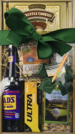 California Delicious Dad's Tee-Riffic Golf and Goodies Gift Box