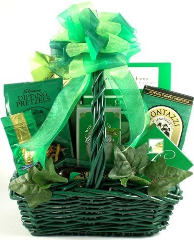 Luck of the Irish Gourmet St. Patrick's Day Gift Basket by Organic Stores