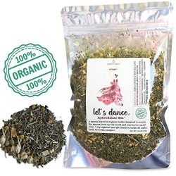 Modest Earth Let's Dance Tea | 100% ORGANIC Natural Aphrodisiac Herbal Remedy | DAMIANA Co ...