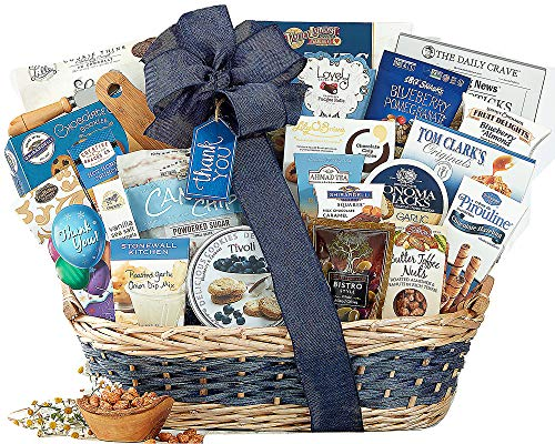 Many Thanks Appreciation Gourmet Gift Basket Thank You By