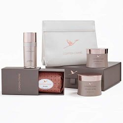 Bath Ritual Home Spa Gift Basket | COPPER+CRANE Skin Care Set