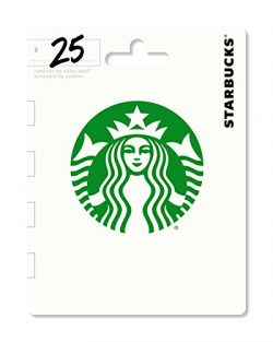 Starbucks Gift Card $25 – Packaging may vary