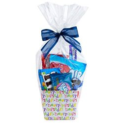 "Clear Basket Bags 16"" x 24"" 10 Pack Cellophane Gift Bags for Baskets and Gifts"