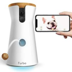 Furbo Dog Camera: Treat Tossing, Full HD Wifi Pet Camera and 2-Way Audio, Designed for Dogs, Com ...