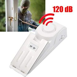Euone Home, Door Stop Alarm Wireless Home Travel Security Portable System Safety Wedge Alert