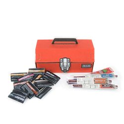 Man Crates Exotic Jerky Tool Box – The Ultimate Father's Day Gift – Includes 14 Exotic Jer ...