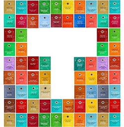 Tea Bags Sampler Assortment, 48 Individual Flavors Of Stash Teas, Packed In Luxurious Gift Box