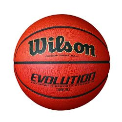 Wilson Evolution Indoor Game Basketball, Intermediate – Size 6