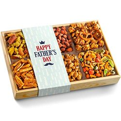 Father's Day Crunch 'n Munch Snacks & Nuts Gift Tray