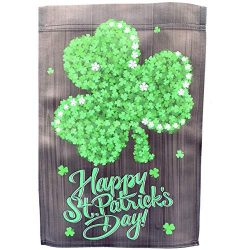 GiftWrap Etc. St. Patrick's Day House Flag – 28″ x 40″, Large Garden Dec ...