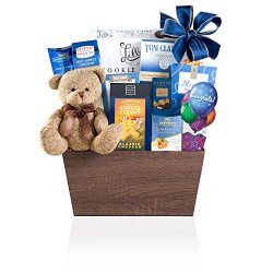 Wine Country Gift Baskets Bear Hugs Congratulations, 3.5 Pound
