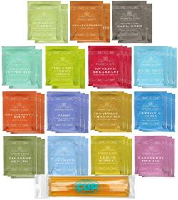 By The Cup Honey Sticks and Tea Bag Gift Set – Harney & Sons Tea Bag Sampler – 4 ...