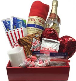 Romantic Date Night Gift Basket | Anniversary Date Idea | Perfect for Binge Watching Your Favori ...