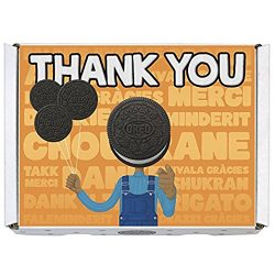 Oreo Gift Boxes – Includes Regular Oreo, Double Stuf and Mini Oreo Cookies (Thank You)