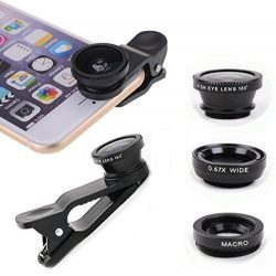 Cell Phone 3-1 Camera Lenses for iPhone, Samsung, Android, HTC, Smart Phone, Tablets, iPad, Lapt ...