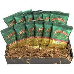 Door County Coffee Best Sellers, Classic Decaf, Full-Pot Bags, 12-Pack Gift Set