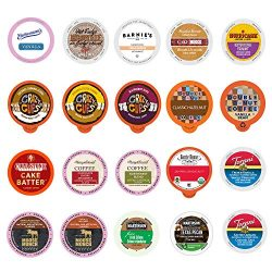 20-count Flavored Coffee Variety Sampler, Single-serve Coffee for Keurig® K-cup® Brewers