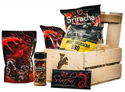 Sriracha Snack Crate – Sweet & Spicy Food Gift For Men – Father's Day R ...