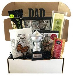 Man Basket – Fathers Day Gifts Basket With Snack Foods – Gift Basket For Fathers Day ...