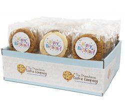 The Providence Cookie Company HAPPY BIRTHDAY GOURMET COOKIE GIFT choose 1, 2, 3 or 4 Dozen (1 Dozen)