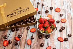 Andy Anand's Chocolates – Premium California Farm fresh Strawberries covered with Rich Dar ...