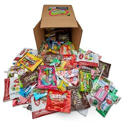 Your Favorite Mix of Premium Candy! 3 Pounds of Gummi Bears, Skittles, M&M's, Blow Pop ...