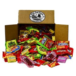 Candy Treats (5 pounds) of Individually Wrapped Candy: Life Savers, Skittles, Starburst, Swedish ...