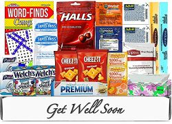 Get Well Soon Gift Box Basket by Goodii Box | Gift Package for Cold/Flu/Sick | Care Package | Ge ...