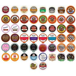 Coffee, Tea, Cider, Cappuccino and Hot Chocolate Single Serve Cups For Keurig K Cup Brewers Vari ...