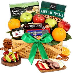 GourmetGiftBaskets.com Picnic Fruit Basket – Gourmet Gift Baskets Prime – Fruit Bask ...
