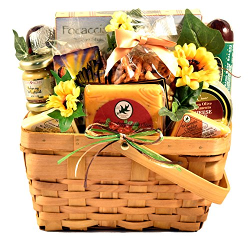 Gift Basket Village Springtime Cheerful Snacks Gift Basket
