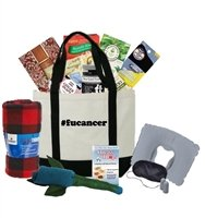 Just Don't Send Flowers The Big Queasy Chemo Gift Basket for Men – F U Cancer
