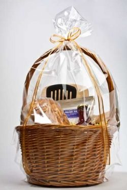 ClearBags 18 x 24 Large Holiday Gift Basket Bags | Perfect for Christmas Parties Gift and Food B ...