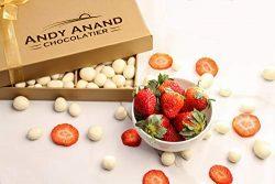 Premium California Dried Strawberries covered with Greek Yogurt, All Natural, Christmas, Corpora ...