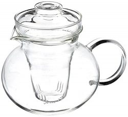 Primula Blossom 40 oz Glass Teapot Gift Set – Includes Infuser, 12 Flowering Teas