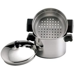 Farberware 70043 Stack 'N' Steam 3-Qt. Covered Saucepot Insert Stainless Steel Steam ...