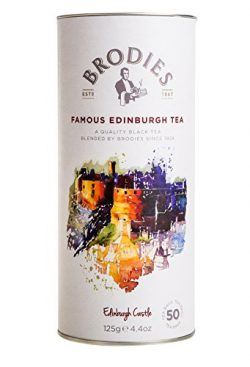 Brodies Famous Edinburgh Tea (50 Tea Bags in Drum)